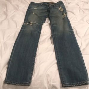 AG distressed jeans in perfect condition